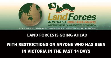 Land Forces 2021 in Brisbane from 1 to 3 June will go ahead as planned – except for people who have been in Victoria in the past 14 days.