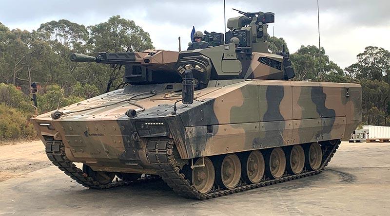 Rheinmetall's Lynx KF41 Infantry Fighting Vehicle. Photo supplied.