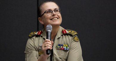 Australian Defence Head of People Capability Major General Natasha Fox. Photo by Megan Popelier.