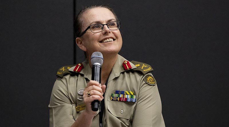 Australian Defence Head of People Capability Major General Natasha Fox. Photo by Megan Popelier.