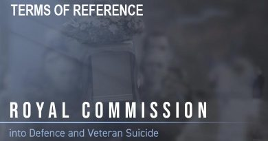 Royal Commission into Defence and Veteran Suicide – Terms of Reference