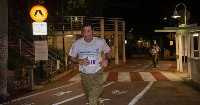 Major Nicholas Chamberlin, of the 1st Signal Regiment, takes part in the Darkness to Daylight event in Brisbane. Story by Lieutenant Simon Hampson.