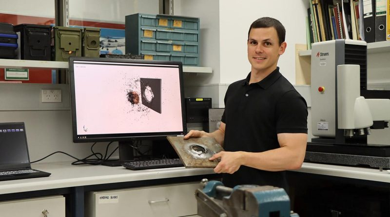 Defence scientist, Dr Brodie McDonald has been awarded the 2021 Land Forces Young Innovator award.