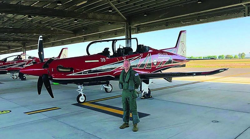 Squadron Leader Scott van Ginkel is an honourable recipient from Air Force Training Group of the Medal of the Order of Australia. Story by Aircraftwoman Olivia Tiele.