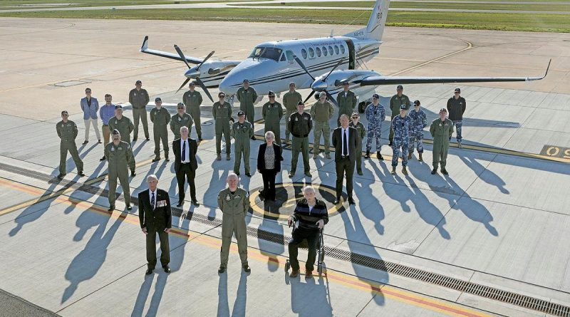 Former commanders and No. 32 Squadron members celebrated the 32nd birthday of the squadron's re-formation at RAAF Base East Sale. Story by Flight Lieutenant Julia Ravell. Photo by Petty Officer Rick Prideaux.