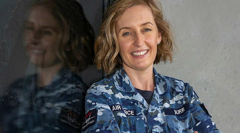 Squadron Leader Louise Burr is a finalist in the Australian Defence Magazine 2021 Women in Defence Awards. Story by Alisha Welch. Photo by Sergeant David Gibbs.