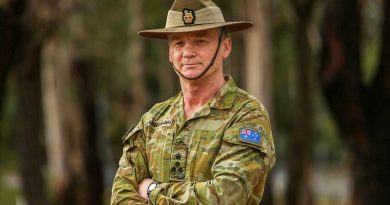 Brigadier Mick Garroway is handing over command of the 5th Brigade after a very busy 18 months. Story by Lieutenant Commander John Thompson. Photo by Leading Seaman Ryan Tascas.
