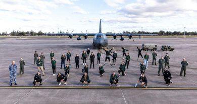 The Australian women's rowing team visits No. 37 Squadron at RAAF Base Richmond. Story by Eamon Hamilton. Photo by Corporal Dan Pinhorn.