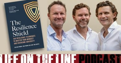 The Resilience Shield – a new book by SAS veterans Dr Dan Pronk, Ben Pronk and Tim Curtis.