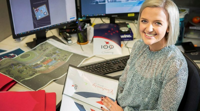 Deputy Director of Air Force Events Olivia Hannan has been awarded an industry scholarship. Story by Squadron Leader Bruce Chalmers. Photo by Sergeant Rob Hack.