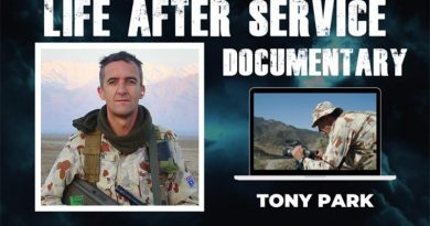 Tony Park – international best-selling author and former Army officer.