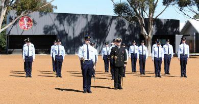 The No. 262 PC-21 Australian Defence Force Pilots Course on parade for their graduation. Story by Peta Magorian. Photo by Chris Kershaw.