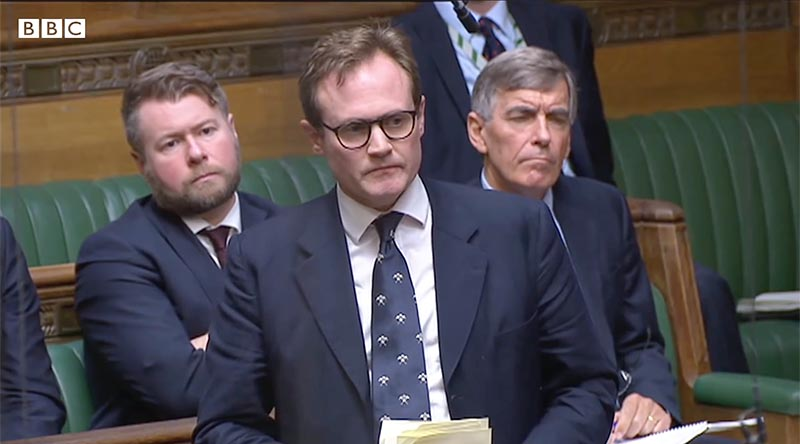 British MP and Afghanistan war veteran Tom Tugendhat address the House – 'what defeat looks like'.
