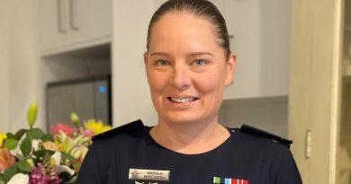 Award-winning Officer Training School graduate, Pilot Officer Nicola Mitchell. Story by Flight Lieutenant Julia Ravell.