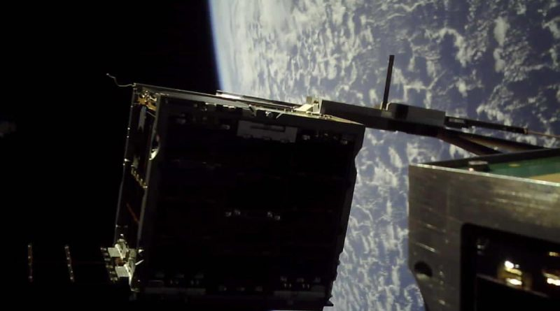 Australia's M2 cube satellite successfully completes a controlled separation in space. Story by Flight Lieutenant Jessica Aldred.