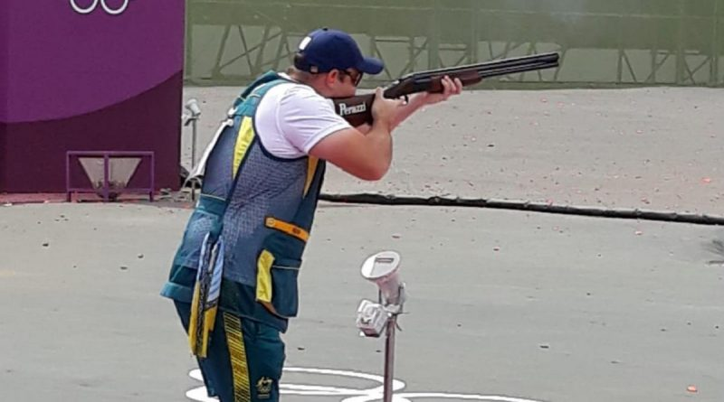 Lieutenant Paul Adams competing at the Tokyo Olympic Games. Story by Corporal Veronica O'Hara.