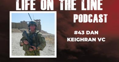 Daniel Keighran VC podcast