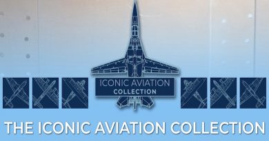 Military Shop has a fabulous new collection of merchandise to celebrate six of the most iconic aircraft of the Royal Australian Air Force.